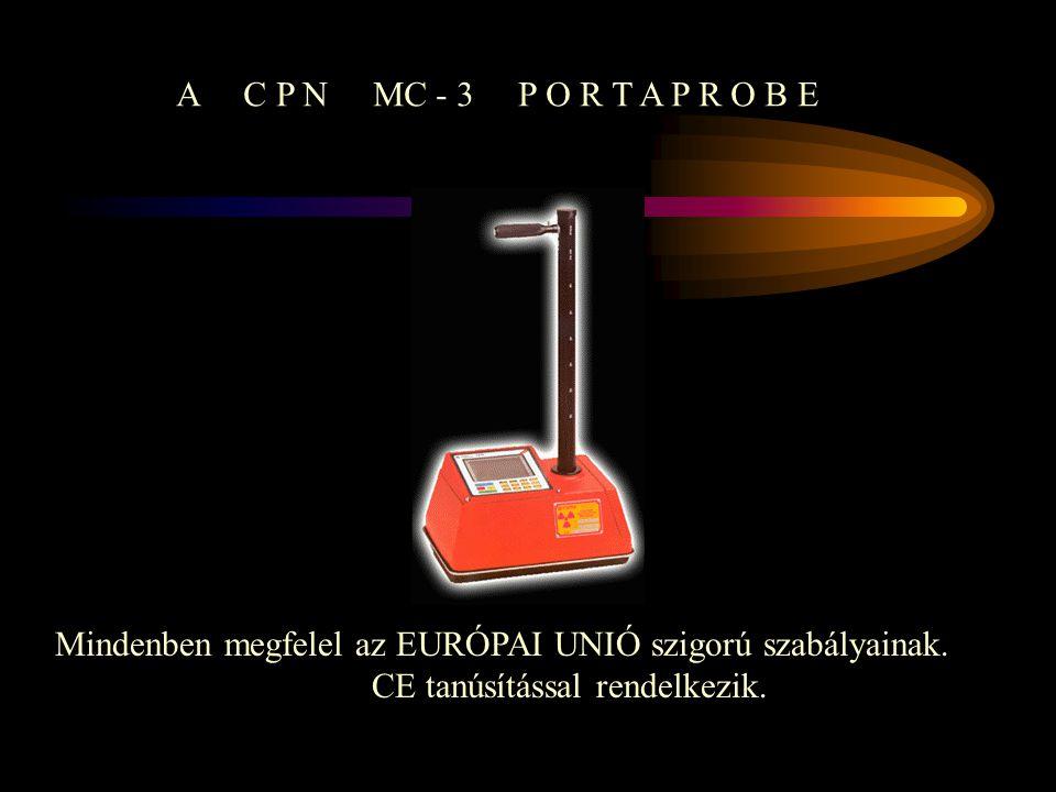 CPN MC-3 PORTAPROBE IZOTÓP INTÉZET KFT. COMPLEXLAB