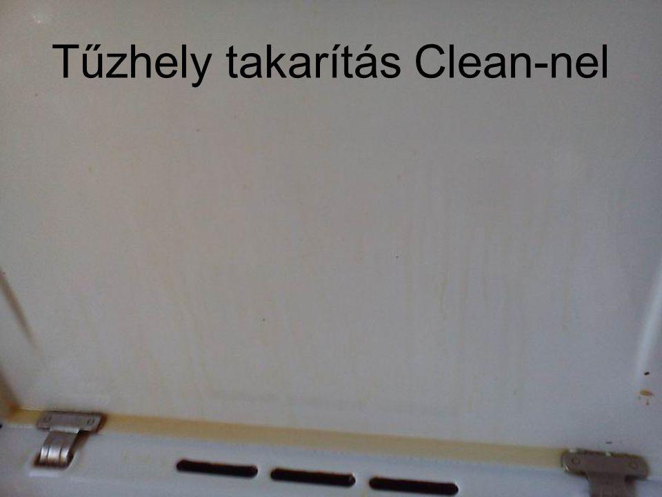 Tűzhely takarítás Clean-nel