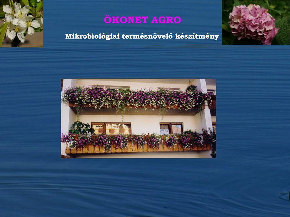 ÖKONET AGRO Mikrobiológiai termésnövelő készítmény