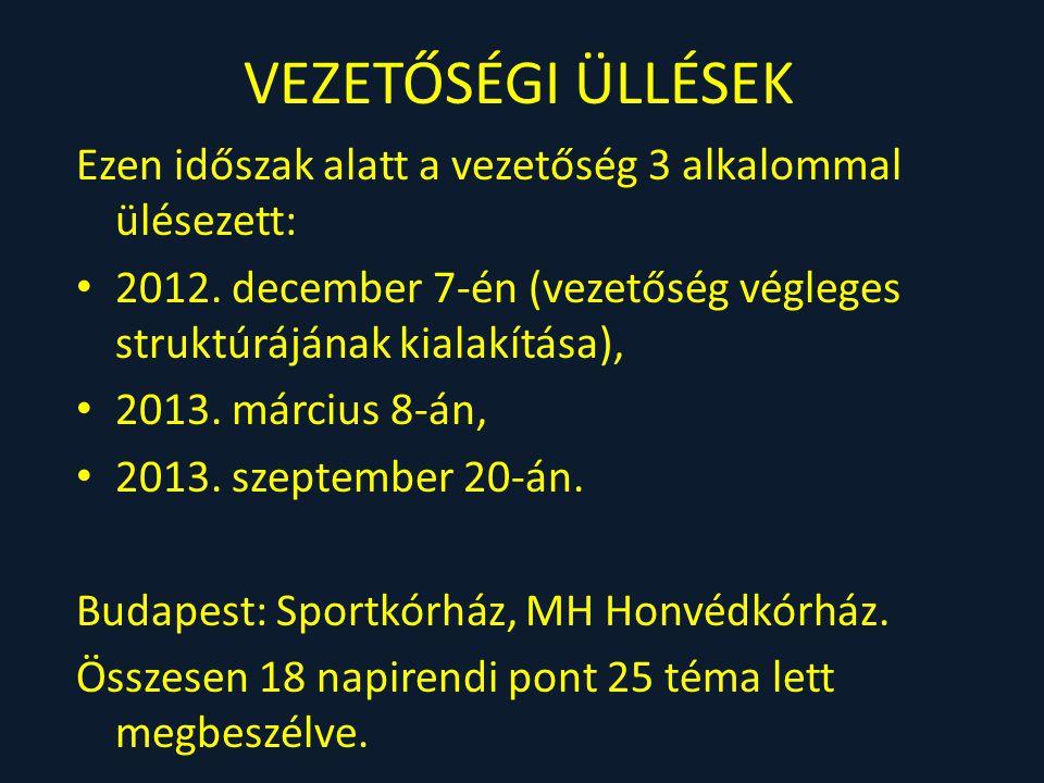 17.2014. évi MKRT kongresszus előkészítése: Székesfehérvár.