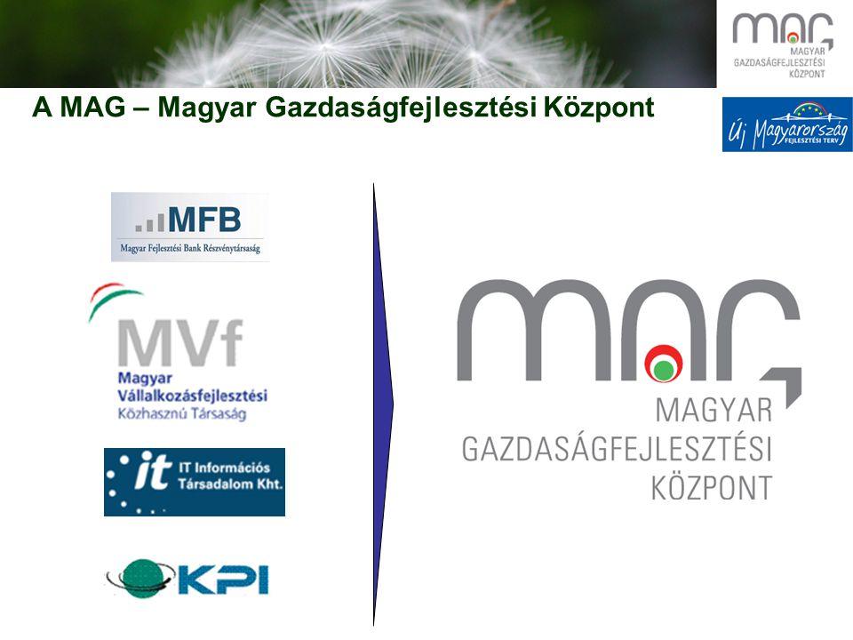 A MAG – Magyar Gazdaságfejlesztési Központ