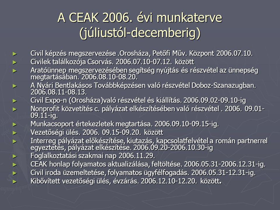 A CEAK 2006.