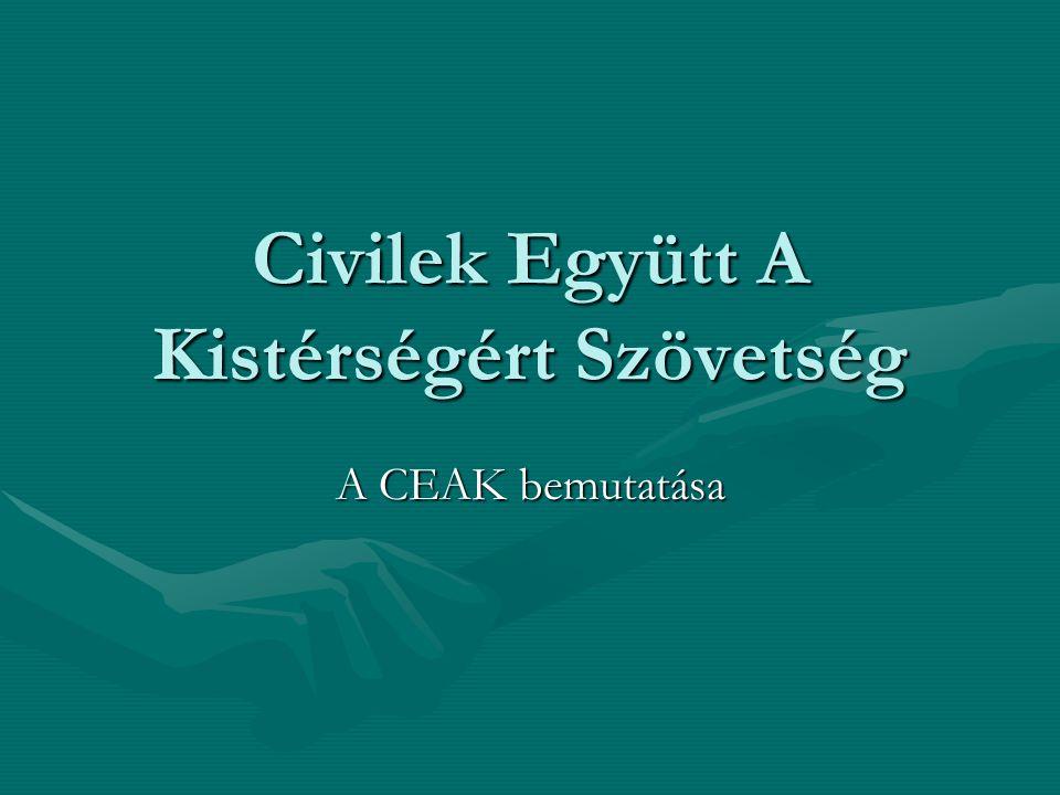 Civilek Együtt A Kistérségért Szövetség A CEAK bemutatása