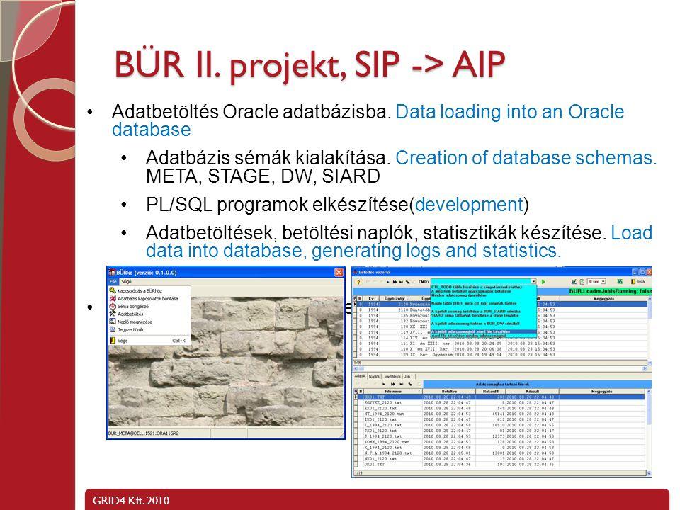 GRID4 Kft.2010 A SIARD formátum Nyilvános szabvány.
