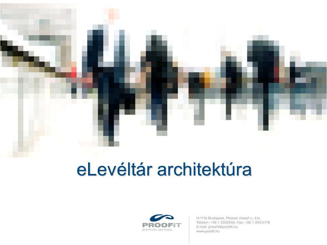 eLevéltár architektúra