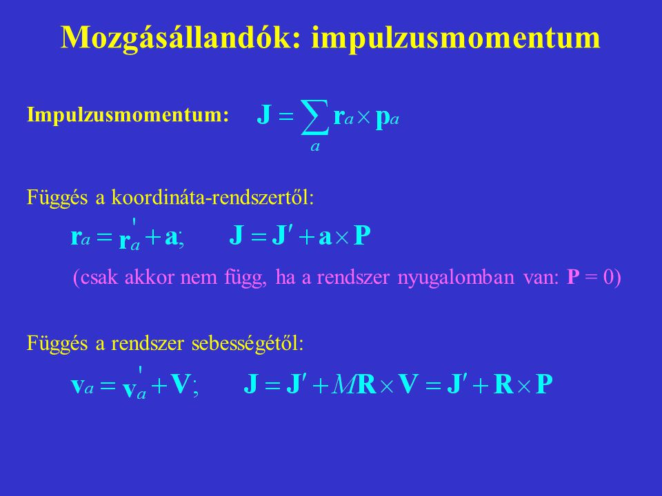 Vektorok I.Lineáris vektortér (L): 1.