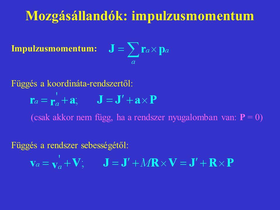 Termodinamikai alapfogalmak I.