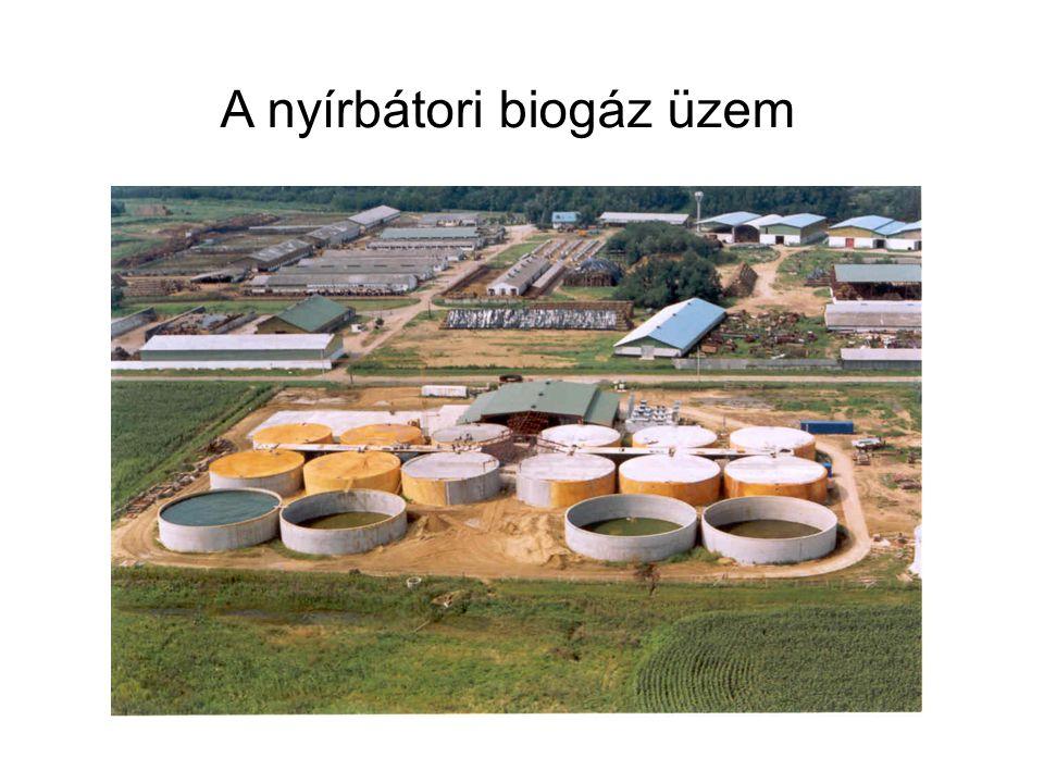 A nyírbátori biogáz üzem