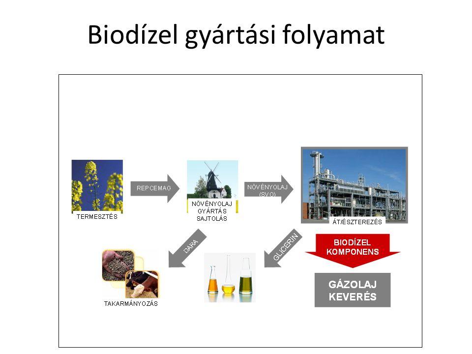 Biodízel gyártási folyamat