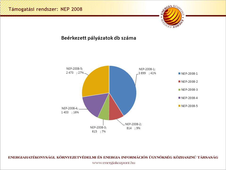 Támogatási rendszer: NEP 2008