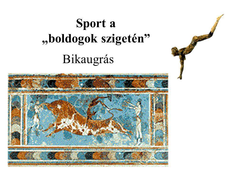 """Bikaugrás Sport a """"boldogok szigetén"""""""