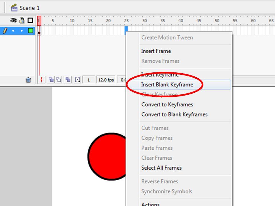 A Piros gomb szkriptje on(press){ _root.klip.loadMovie( piros.swf ) }