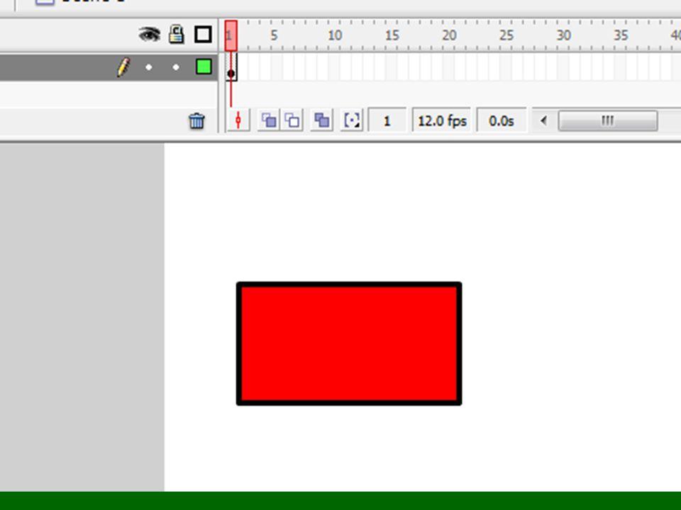 A hátra gomb scriptje on (press) { labda1.speed = -5; }