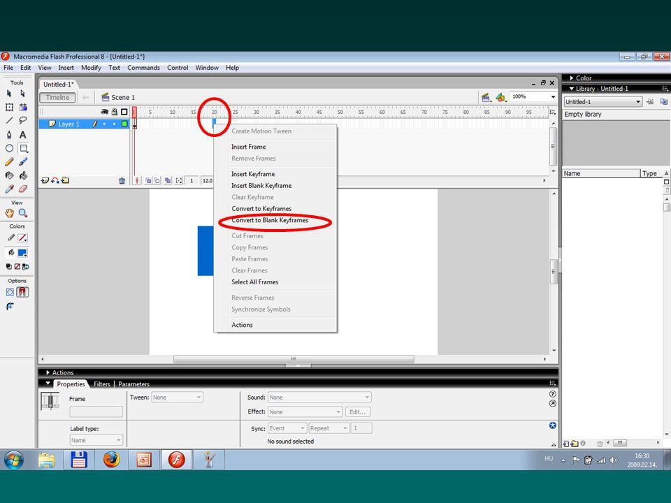 Táblák csoportosítása A táblák tetszőlegesen ki- és bekapcsolhatók Tetszőlegesen csoportosíthatók (Window > Panel Sets) Az alapértelmezett elrendezés bármikor visszaállítható (Window > Panel Sets > Default Layout)0