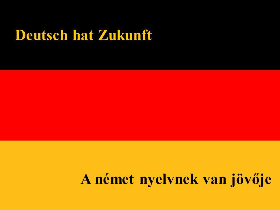 A német nyelvnek van jövője Deutsch hat Zukunft