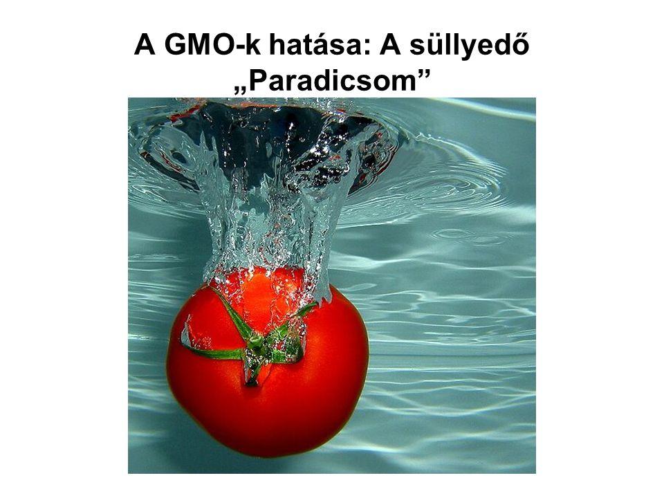 """A GMO-k hatása: A süllyedő """"Paradicsom"""""""