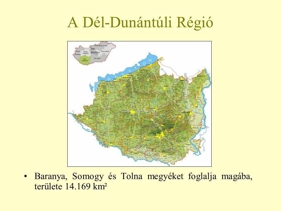 A régió népessége Össznépessége (2001) 992.368 fő, az országos érték kb.