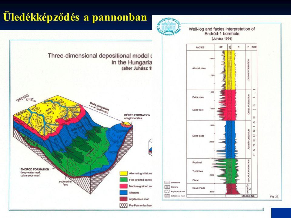Folyótípusok: meanderező (meandering) Egyetlen aszimmetrikus mélységű, erősen kanyargós meder.