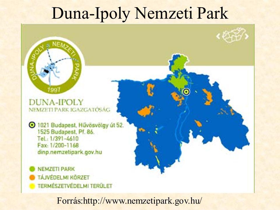 Duna-Ipoly Nemzeti Park Forrás:http://www.nemzetipark.gov.hu/