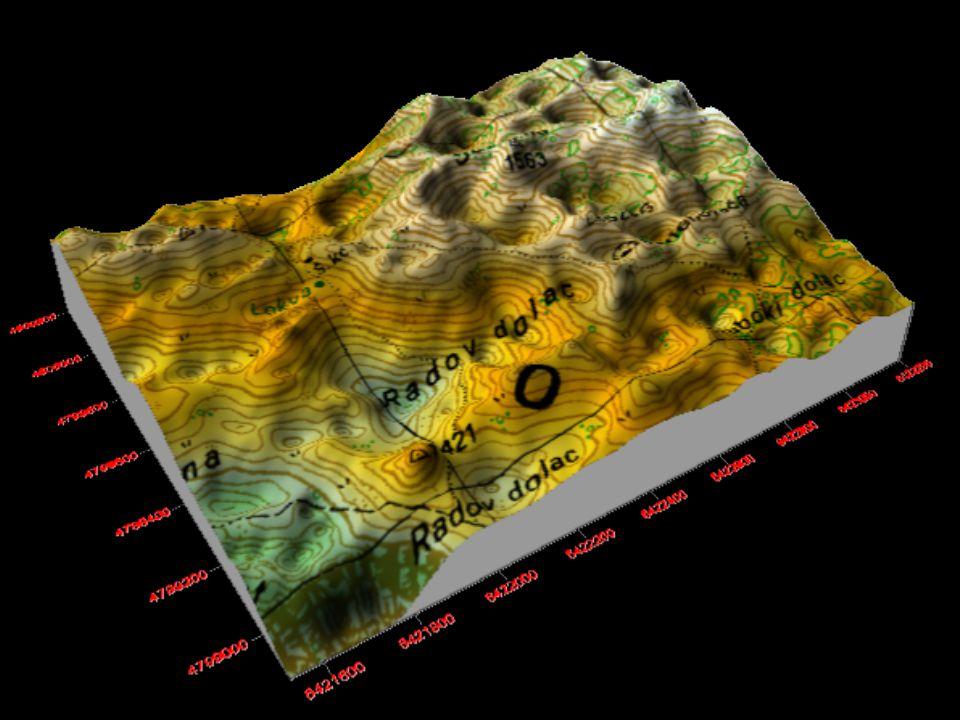 A Bükk és a Mátra magassági értékeinek gyakorisága 90m-es felbontású DDM alapján