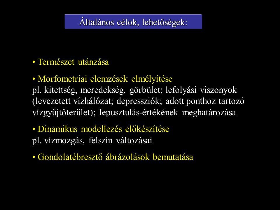 Természet utánzása Morfometriai elemzések elmélyítése pl.