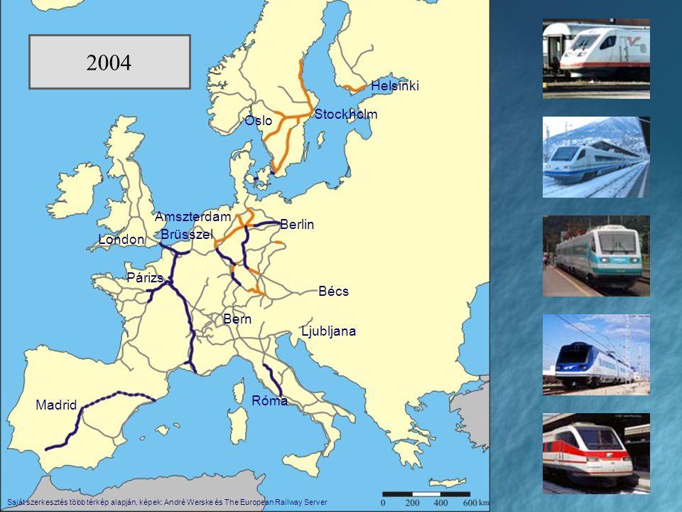 A nagysebességű járművek többgenerációs, mozdony nélküli motorvonatoktöbbgenerációs, mozdony nélküli motorvonatok az üzemi sebesség 220 km/óra felettiaz üzemi sebesség 220 km/óra feletti magas teljesítménymagas teljesítmény általában többáramneműekáltalában többáramneműek kisebb férőhely-kapacitáskisebb férőhely-kapacitás többgenerációs, mozdony nélküli motorvonatoktöbbgenerációs, mozdony nélküli motorvonatok az üzemi sebesség 220 km/óra felettiaz üzemi sebesség 220 km/óra feletti magas teljesítménymagas teljesítmény általában többáramneműekáltalában többáramneműek kisebb férőhely-kapacitáskisebb férőhely-kapacitás FIAT * ETR SIEMENS * ICE ALSTOM * TGV