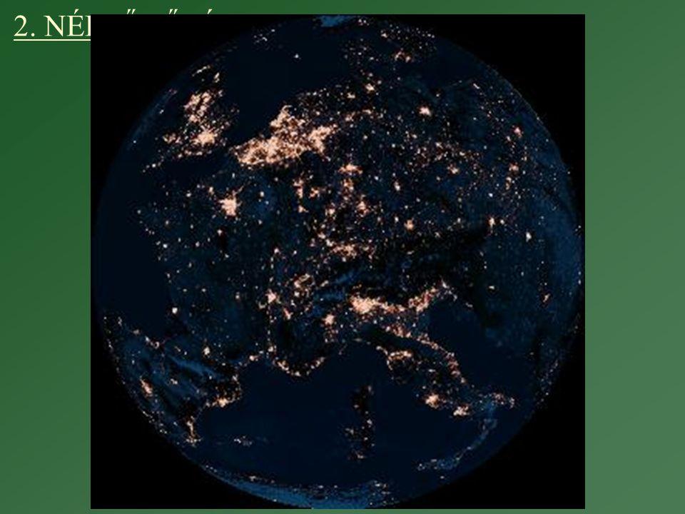Városi népesség sűrűsége nemzeti kritériumok alapján
