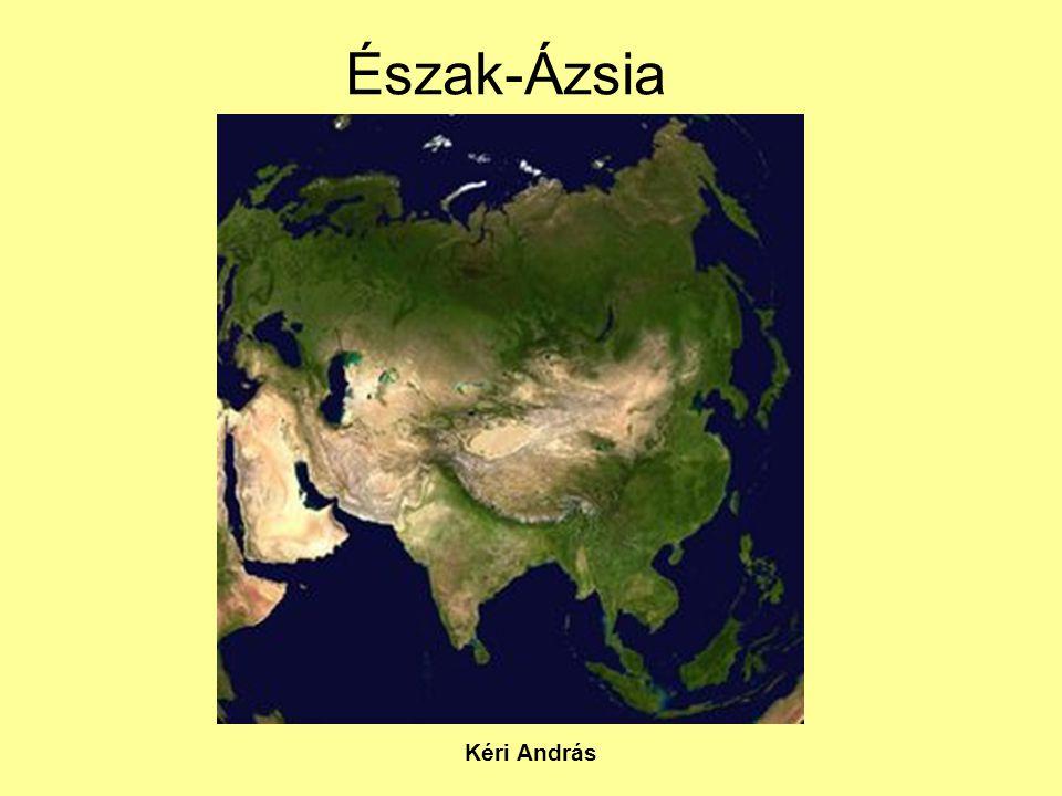 Észak-Ázsia Kéri András