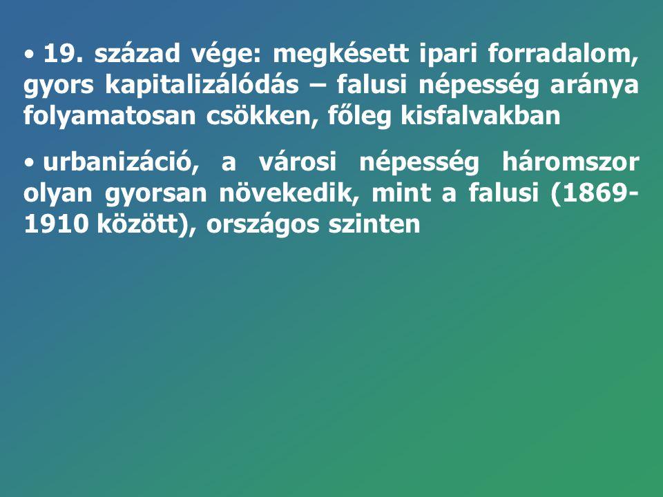 A megye városhálózatának kiépítési sémája (1984): Jelmagyarázat: 1.Meglévő város 2.Várossá fejlesztendő nagyközség 3.Városiasodó nagyközség 4.Budapesti agglomeráció határa 5.Agrár-ipari terület