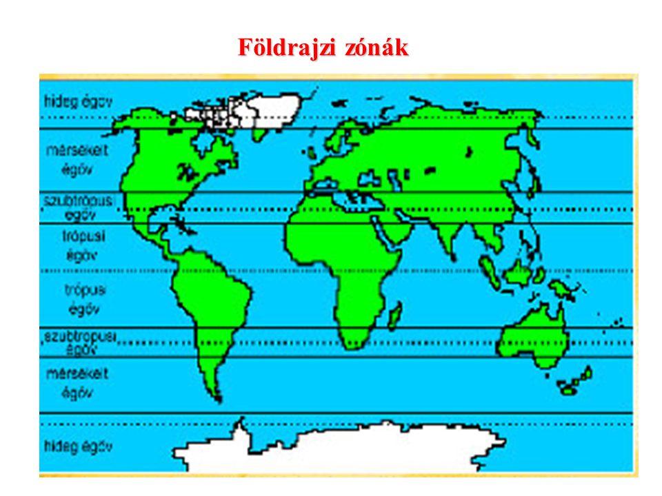 Földrajzi zónák