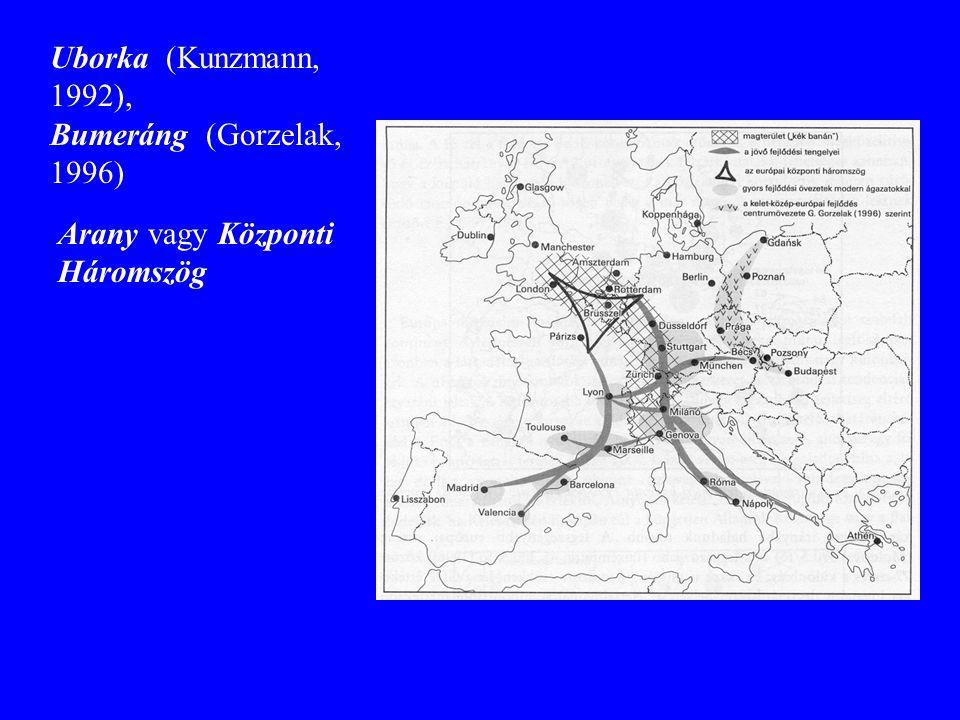 Arany vagy Központi Háromszög Uborka (Kunzmann, 1992), Bumeráng (Gorzelak, 1996)