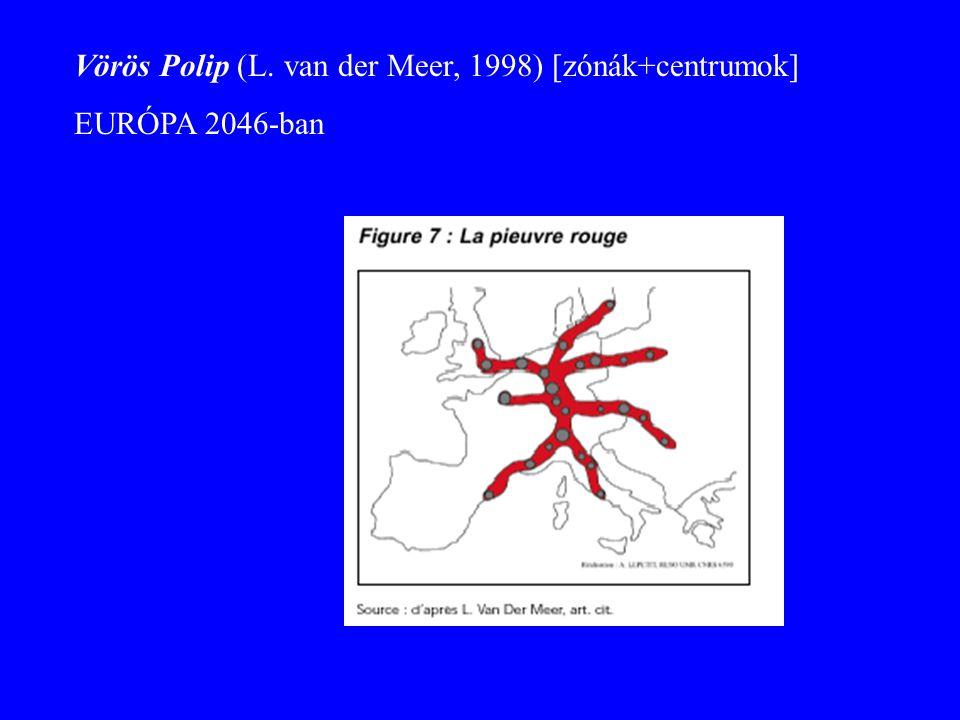 Vörös Polip (L. van der Meer, 1998) [zónák+centrumok] EURÓPA 2046-ban