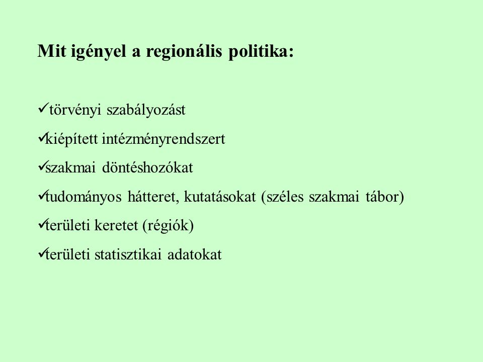 NUTS 2 régiók Magyarországon