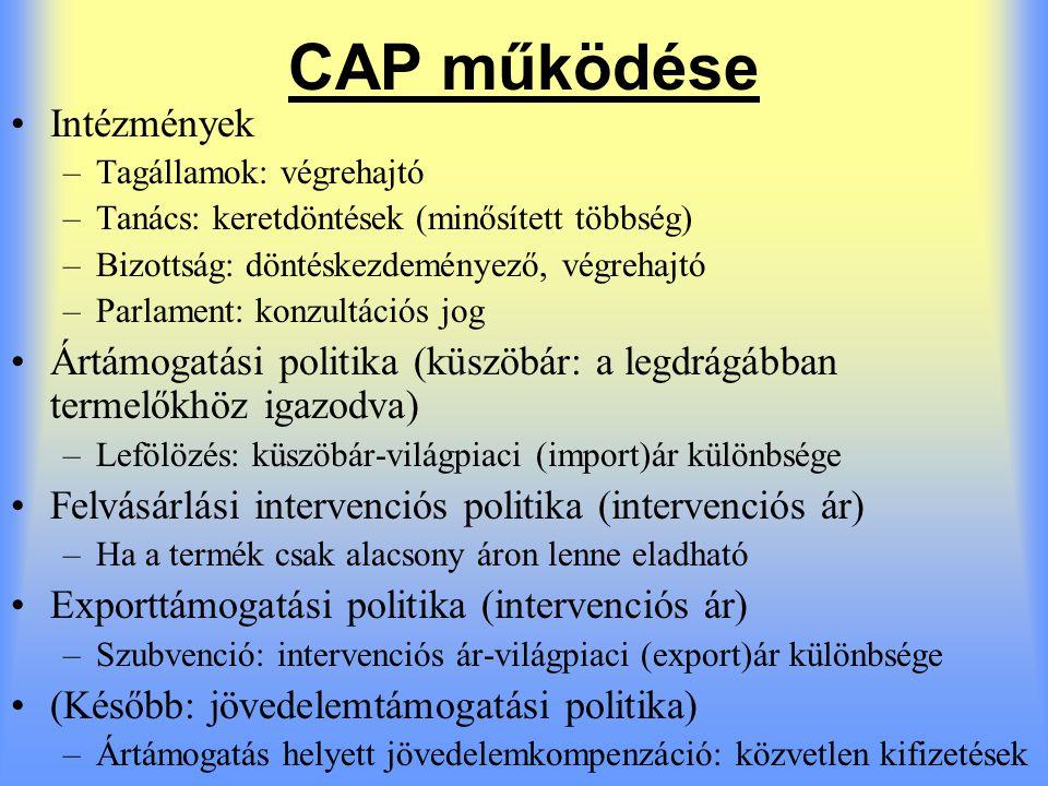 CAP első három évtizede 1962.CAP megkezdte működését 1962.