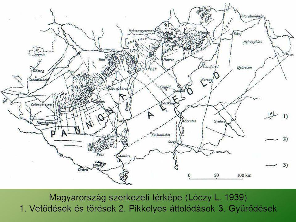 A paksi vetőzóna kapcsolata a Paks-Kiskőrös-Kisújszállás vetőzónával (1.