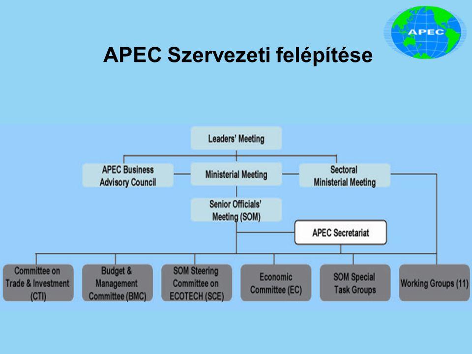 APEC Szervezeti felépítése