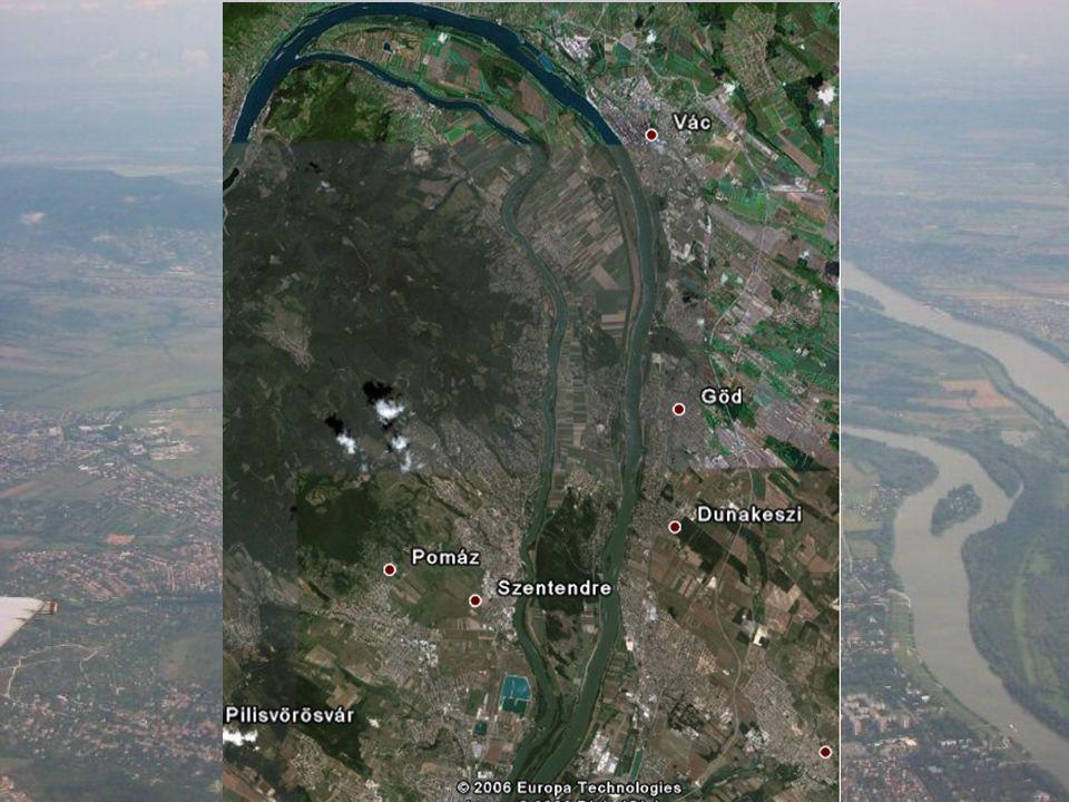 Előzmények Duna-völgy fontos kutatási terület, a Szentendrei- szigettel mégis kevés tanulmány foglalkozik Cholnoky Jenő(1915): az eredeti térszínből fattyúágak által levágott és így szigetté alakult terület Vinkovits S.(1936): Cholnoky elméletét továbbfejlesztve felismerte, hogy a Duna korábban az alsószakasz jellegű szétágazásával 6 kisebb szigetet vett körül a mai Szentendrei- sziget helyén, illetve számos kisebb zátonyt épített, amelyek később a sziget testéhez forrva növelték annak területét.