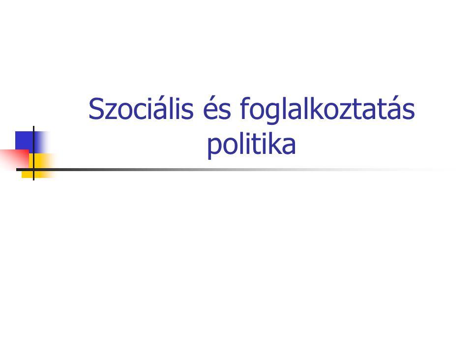 Szociális és foglalkoztatás politika