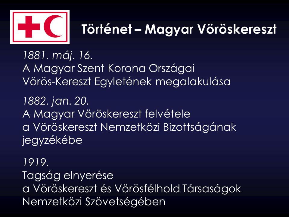 Történet – Magyar Vöröskereszt 1992.