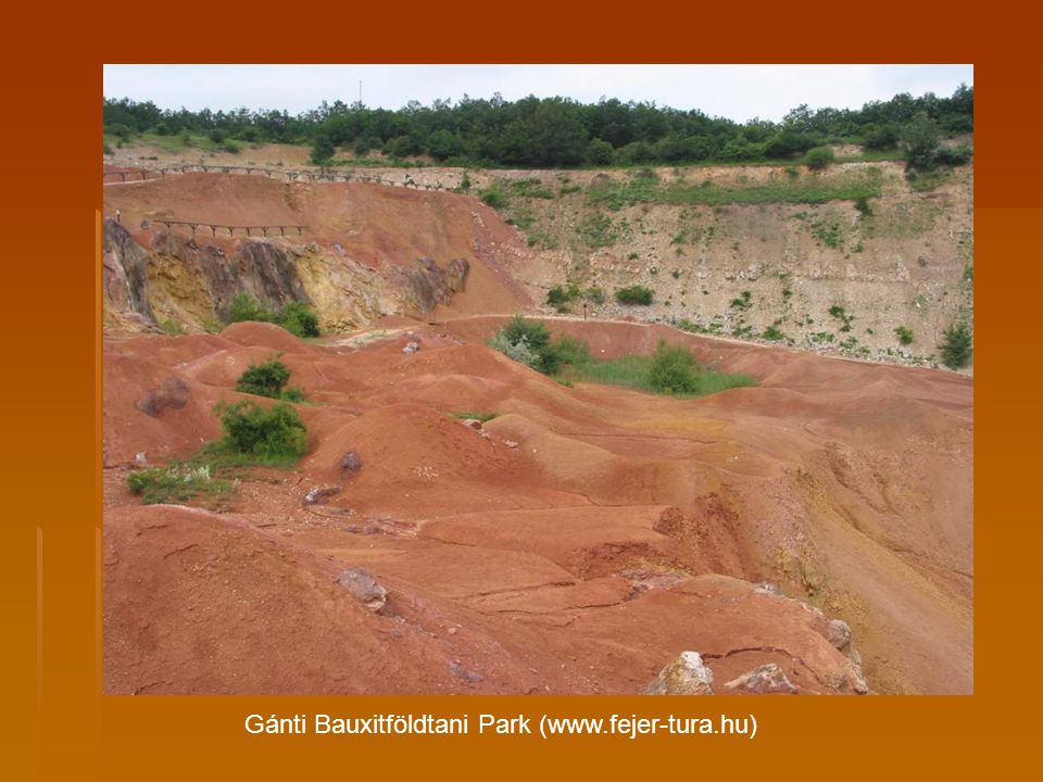 Gánti Bauxitföldtani Park (www.fejer-tura.hu)