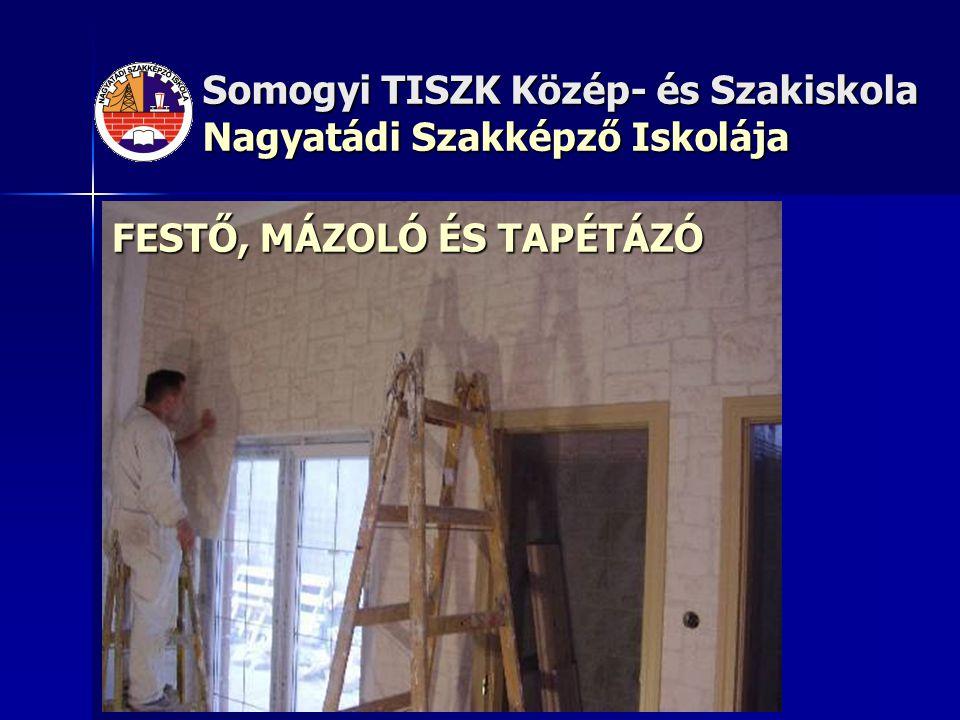 FESTŐ, MÁZOLÓ ÉS TAPÉTÁZÓ