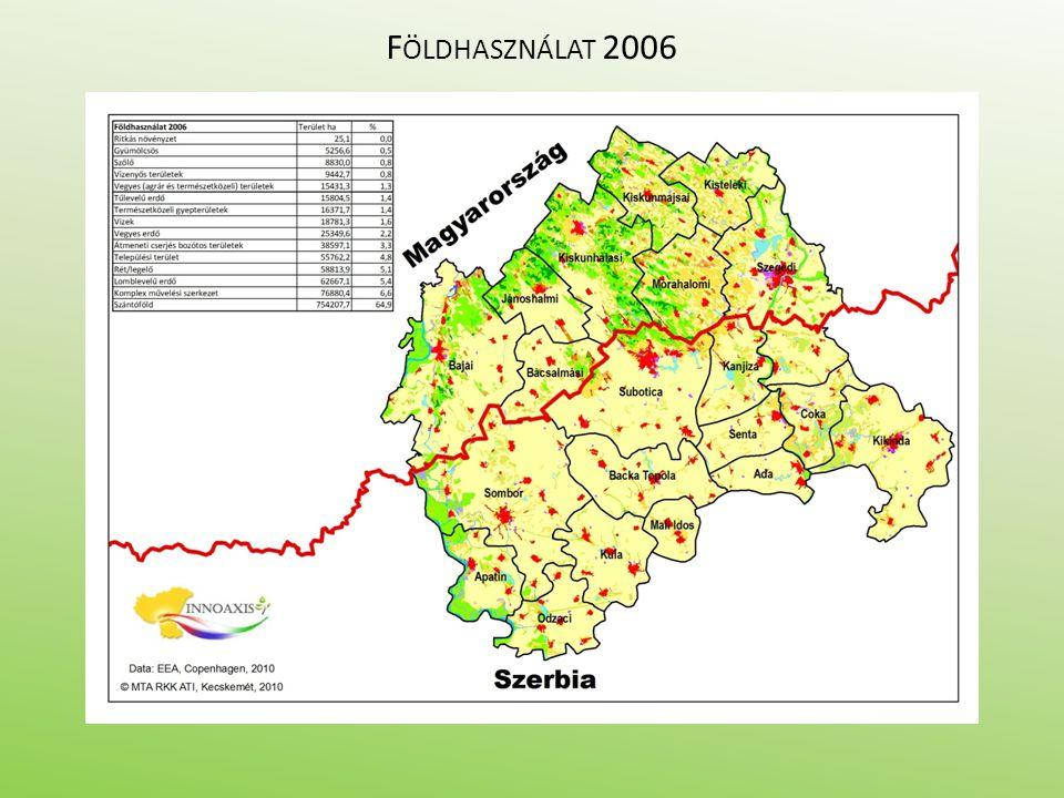 F ÖLDHASZNÁLAT 2006