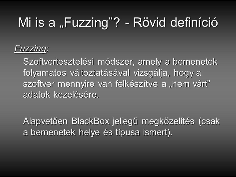 """Mi is a """"Fuzzing ."""
