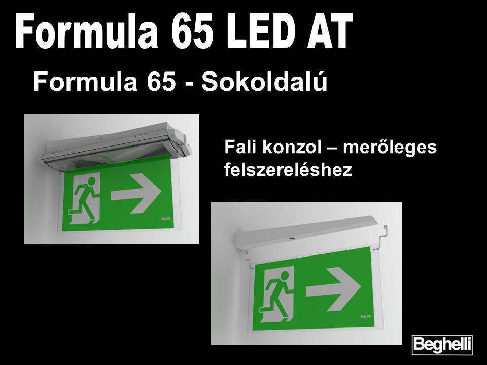 Fali konzol – merőleges felszereléshez Formula 65 - Sokoldalú