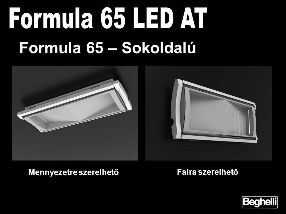 Mennyezetre szerelhető Falra szerelhető Formula 65 – Sokoldalú
