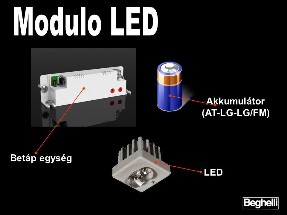 LED Akkumulátor (AT-LG-LG/FM) Betáp egység