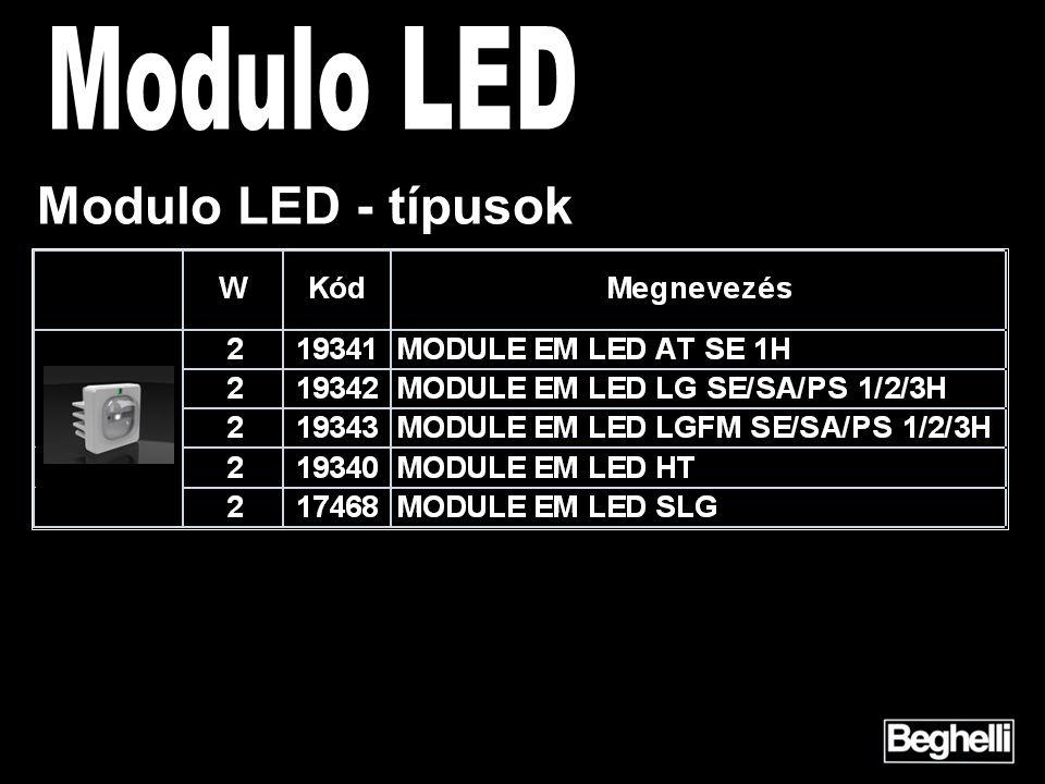 Modulo LED - típusok