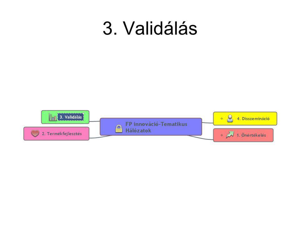 3. Validálás