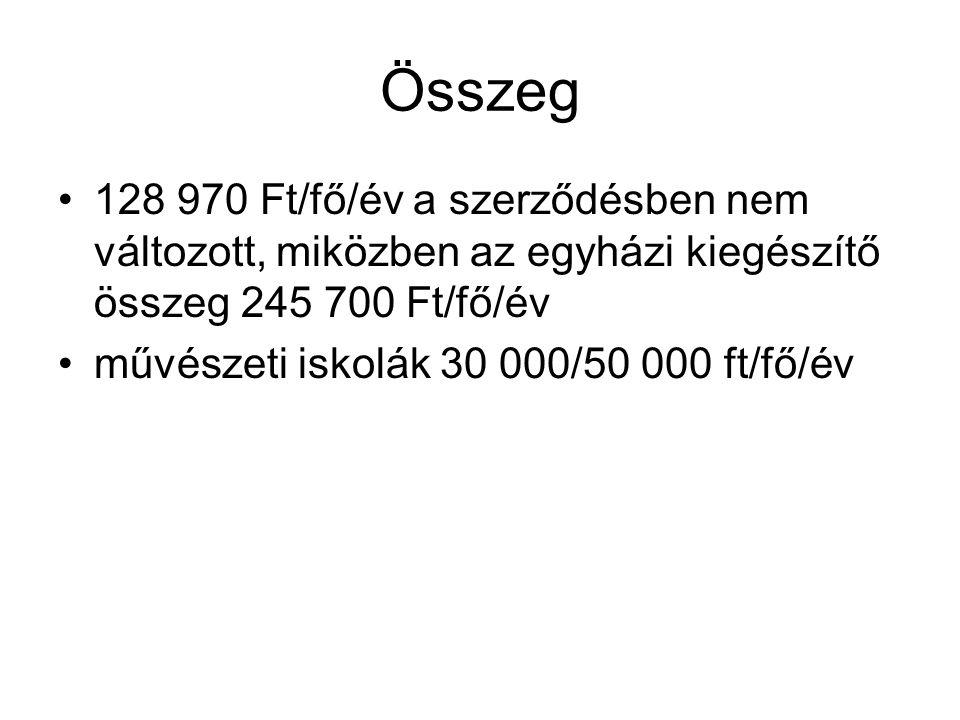 A Magyar Köztársaság 2009.évi költségvetéséről, 30.
