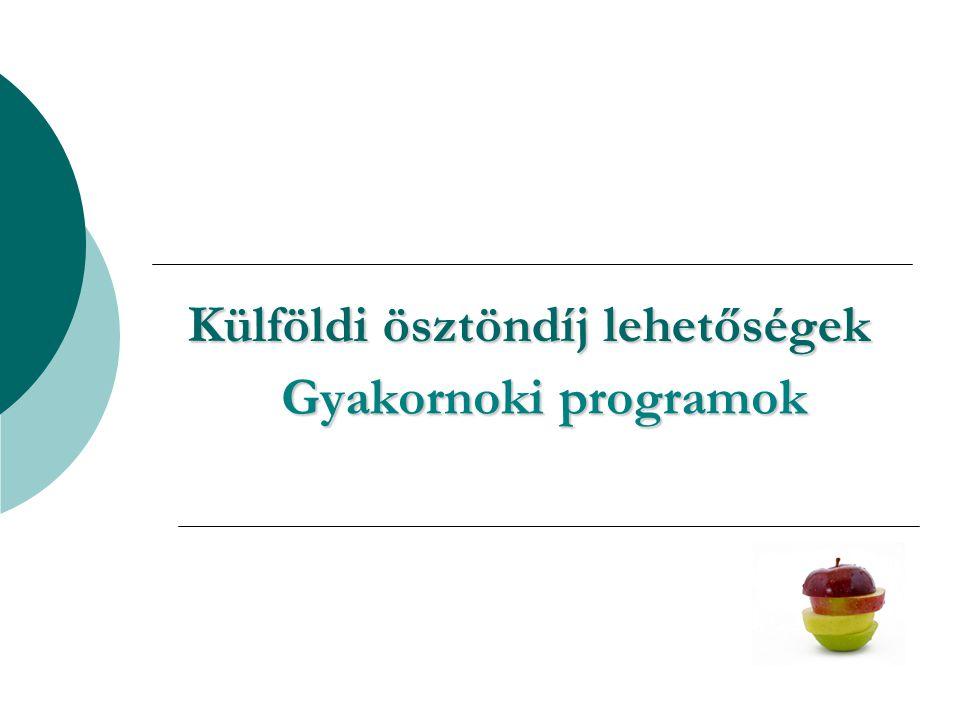Tevékenységeink  Információ hazai/külföldi oktatási és képzési lehetőségekről, mobilitásról, csereprogramokról, ösztöndíjakról, gyakornoki programokról  Együttműködés a Euroguidance hálózattal  Részvétel nemzeti és nemzetközi tájékoztató rendezvényeken  Képzési adatbázisok létrehozása, karbantartása http://ec.europa.eu/ploteus/ http://ec.europa.eu/ploteus/